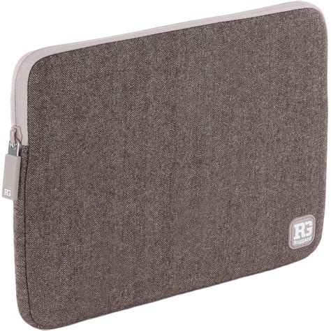 ruggard herringbone sleeve for 13 quot laptop lts 13bh b h