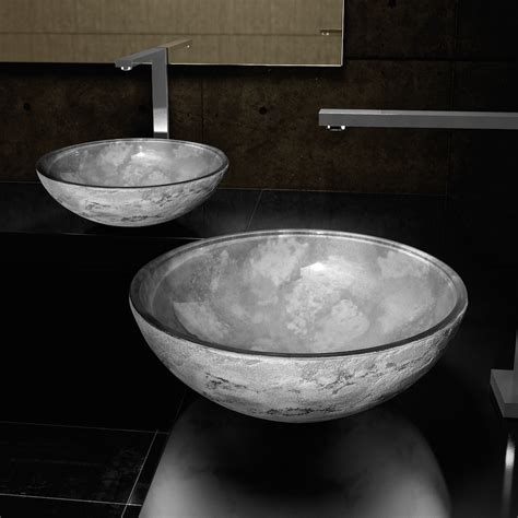 bathroom vessels contemporary dual textured bathroom sink
