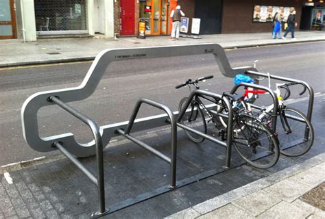 Bike Rack For Parking Lot by 1 Car Space 10 Bicycles We Made This
