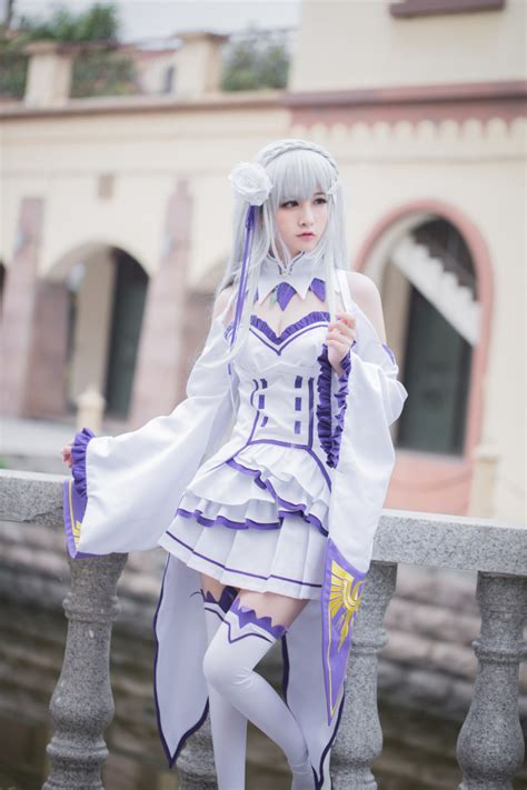 subaru and emilia cosplay trustedeal com my cosplay shop thoese beautiful re zero