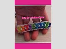 Bow tie rainbow loom bracelet!! | Craft Ideas | Pinterest ... Rainbow Loom Bow Tie Bracelet