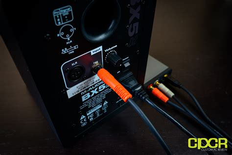 M Audio Bx5 by M Audio Bx5 D2 Studio Monitor Review Custom Pc Review