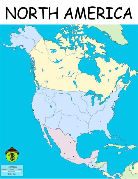 printable maps north america map of america to print my blog