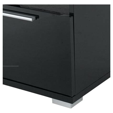 Black Gloss Side Table Buy Milan High Gloss Side Table With Chrome Handle Black From Our Console L Tables Range