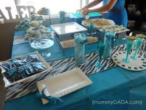 zebra blue unique baby shower theme for boys honey