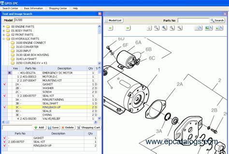 daewoo doosan infracore gpes 2011 spare parts catalog