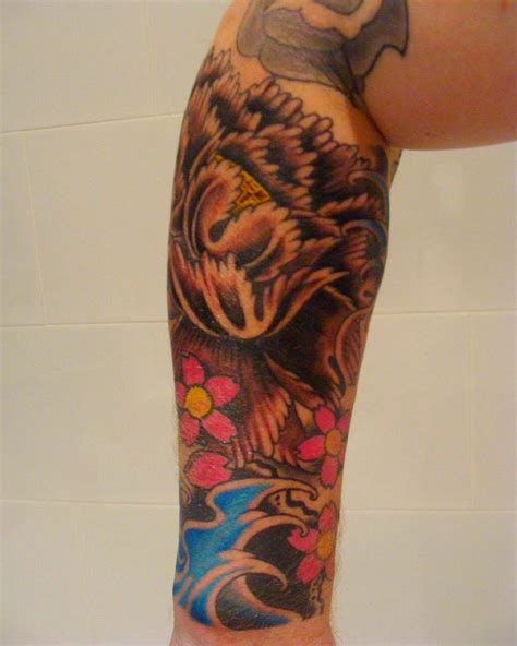japanese pattern tattoo japanese sleeve tattoos awesome traditional japanese
