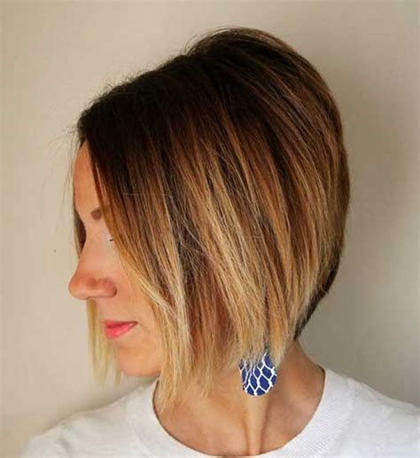 ombre for shorter hair 15 short blonde ombre hair the best short hairstyles for