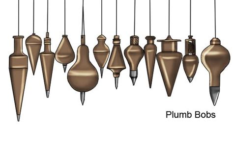 How Do You Use A Plumb Bob by What Are The Different Shapes Of Plumb Bob