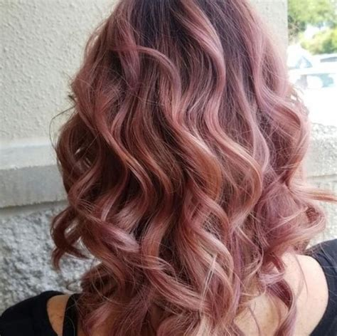 aveda silver hair colors the 25 best rose gold baylage ideas on pinterest rose