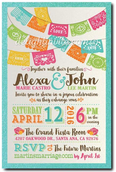 mexican invitations quinceanera lace invitaciones de 25 best ideas about mexican wedding invitations on