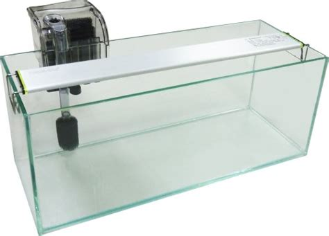mr aqua mini bookshelf aquarium tank set five gallon