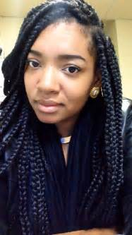 chunky box braids big box braids women hairstyle pinterest chunky box