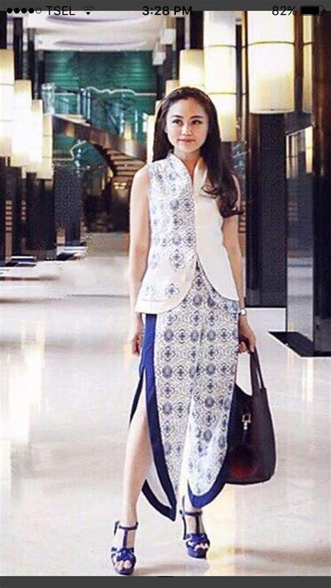Vest Dress Berkualitas Lapisan Furing Dalam 17 best images about batik kebaya tenun on javanese fashion and blouses