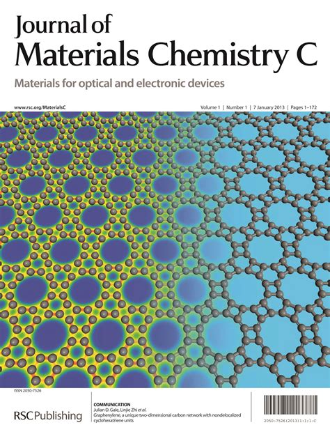 design and materials journal november 2012 journal of materials chemistry blog