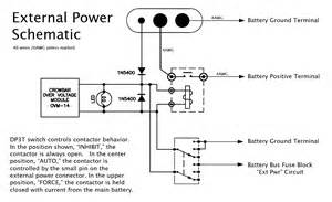 matronics email lists view topic rfc my external power schematic