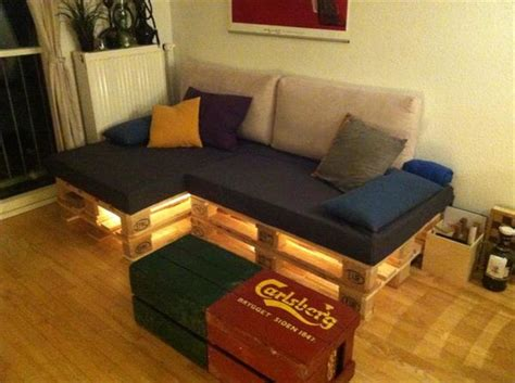couch made of pallets pallet lights ideas for home decor pallets designs