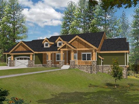 craftsman ranch ranch craftsman style house plans beautiful muirfield
