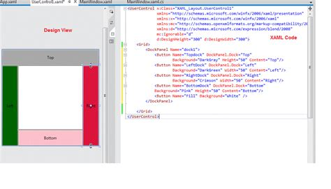 static layout canvas various types of panels in xaml layout