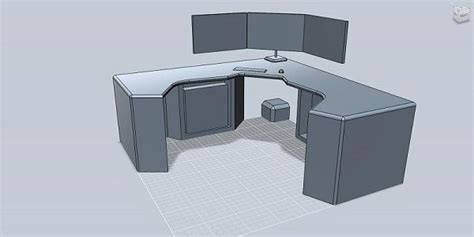 gaming desk plans woodwork gaming computer desk plans pdf plans
