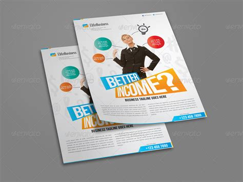 Attractive Business Flyer Template By Codeid Graphicriver Attractive Flyer Templates