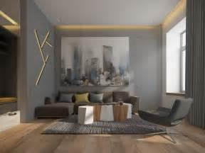 Merveilleux Murs Cuisine Gris Perle #1: couleur-gris-taupe-murs-éclairage-design-canapé-droit.jpg