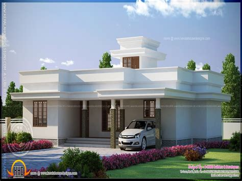 modern single story flat roof plans flat roof one storey modern homes