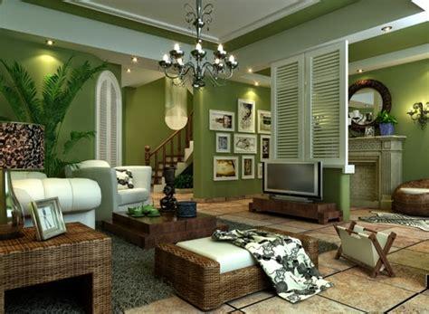 Plants For Living Room salas en color verde y marr 243 n salas con estilo