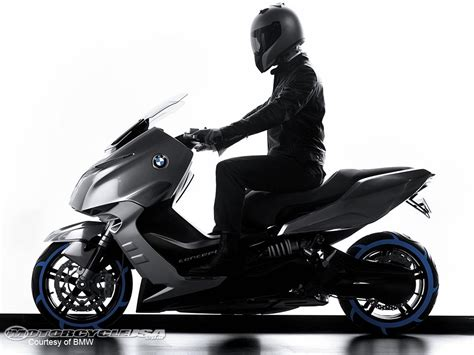 bmw concept c scooter look photos motorcycle usa