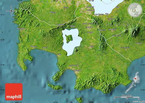 map philippines satellite satellite map of batangas