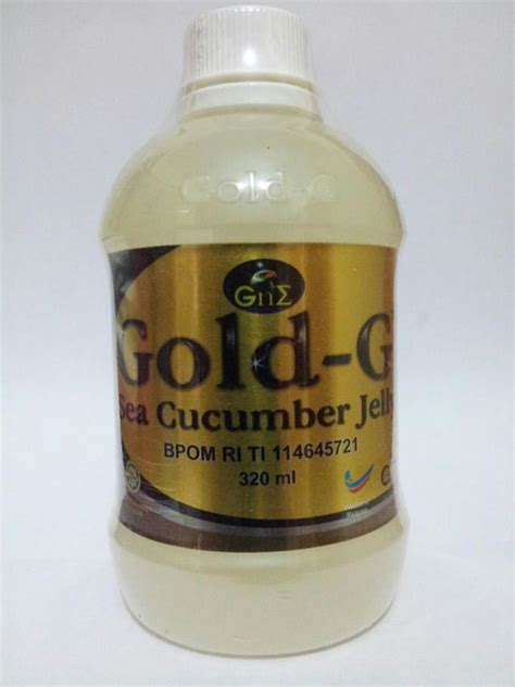 Gold G Bio Sea Cucumber 500ml0 jual jelly gamat gold g bio sea cucumber 320 asli 100