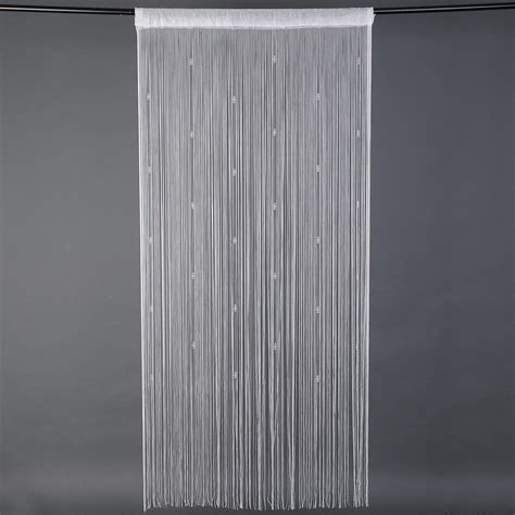 string curtain panel new window room divider crystal beads beaded string