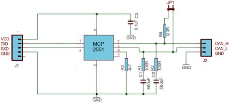pcb layout guidelines can bus diy can transceiver