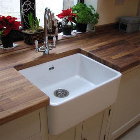 Kitchen With Belfast Sink Astini Belfast 600 1 0 Bowl Traditional White Ceramic Kitchen Sink Waste Tap Ebay