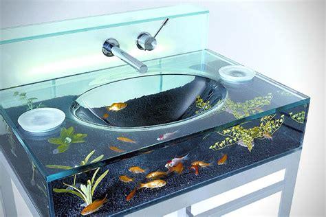 Toilet With Sink On Tank Fish Tank Aquarium Sink Hiconsumption