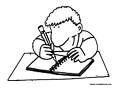 Writing Coloring Pages Writing Coloring Pages