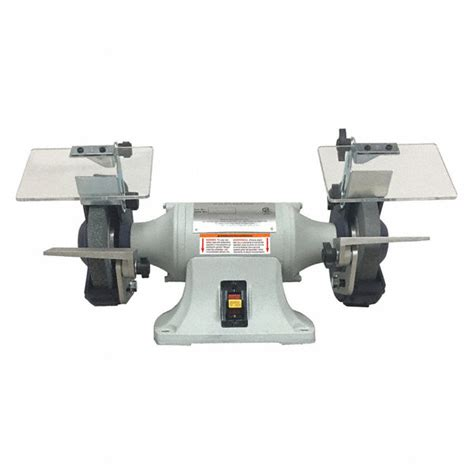 dayton bench grinder parts dayton 6 quot bench grinder 120 240v 1 3 hp 3450 max rpm