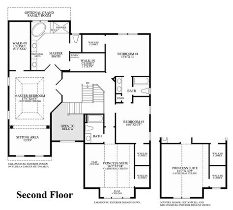 home floor plans richmond va dominion valley country club carolinas the richmond ii