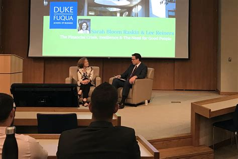 Duke Mba Career by Kicking Recruiting Season At The Finance Career