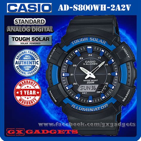 Casio Original Pria Ad S800wh 2a casio ad s800wh 2a2v standard analog end 3 11 2018 9 03 am