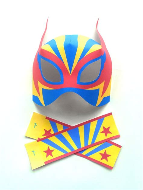 printable luchador masks 53 best lucha libre loco images on pinterest lucha libre