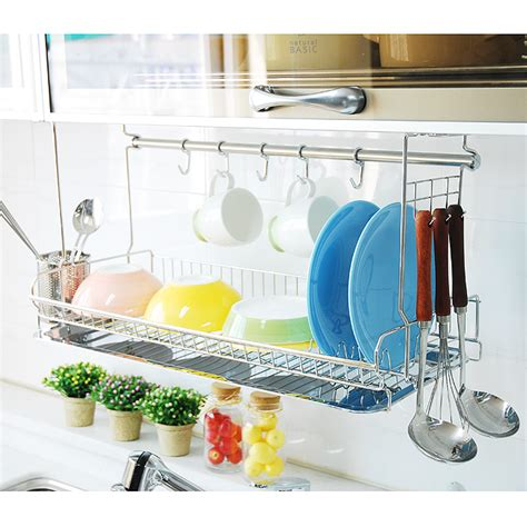 Wall Dish Drying Rack by 10 Ideas Inspiradoras Para Renovar Y Liar El Espacio De