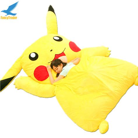pikachu bed aliexpress com buy fancytrader japan anime stuffed giant