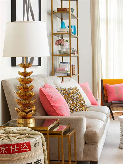 pink and gold living room ideas bubblegum pink and gold combo t a n y e s h a