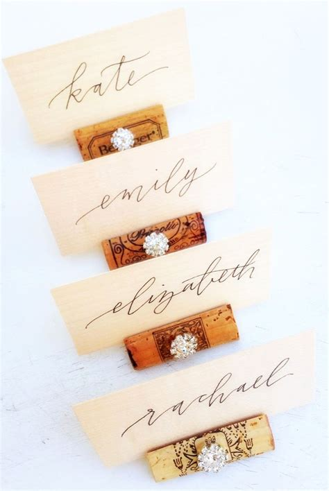 place card holder ideas 25 best ideas about rustic place card holders on