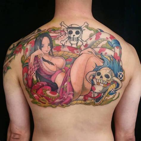 hancock tattoo one piece 32 most beautiful anime tattoos akibento blog