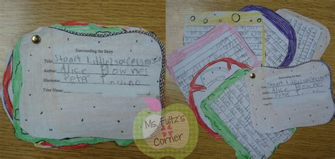 Story Sandwich Book Report by Reading Response Projects Christi Fultz
