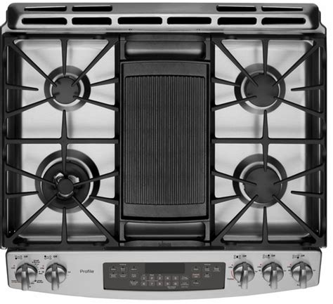 Drop In Gas Range With Oven No Drawer by Pgs920sefss Ge Profile Series 30 Quot Slide In Gas Range With