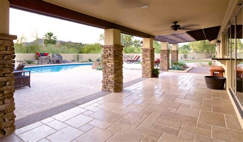 Designer Patio Travertine Flagstone Patio Pavers Landscaping Design Pool Builders Remodeling
