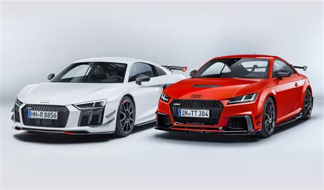 audi r8 and audi tt new audi sport performance parts for r8 and tt look phenomenal